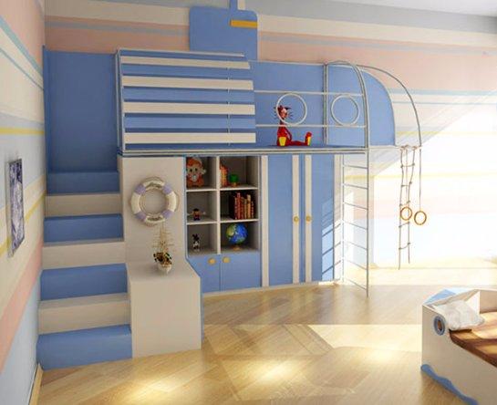 Подбор спортивного уголка для детской комнаты