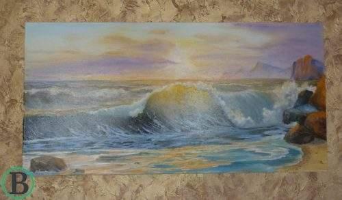 Творец из Черкасс создаёт невероятные картины без помощи рук (фото)