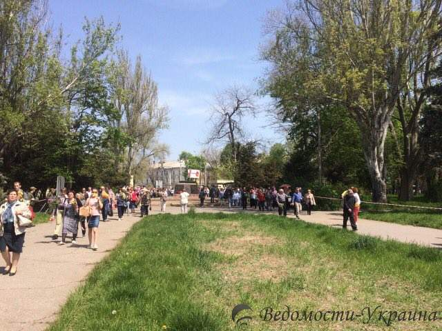 На Куликово поле вновь пускают людей после лжеминирования (фото)