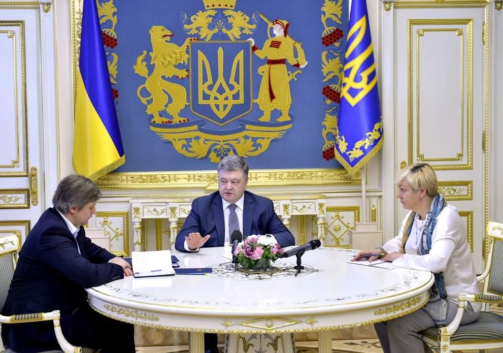 Порошенко заявил об укреплении финансово-банковской системы Украины (Видео)