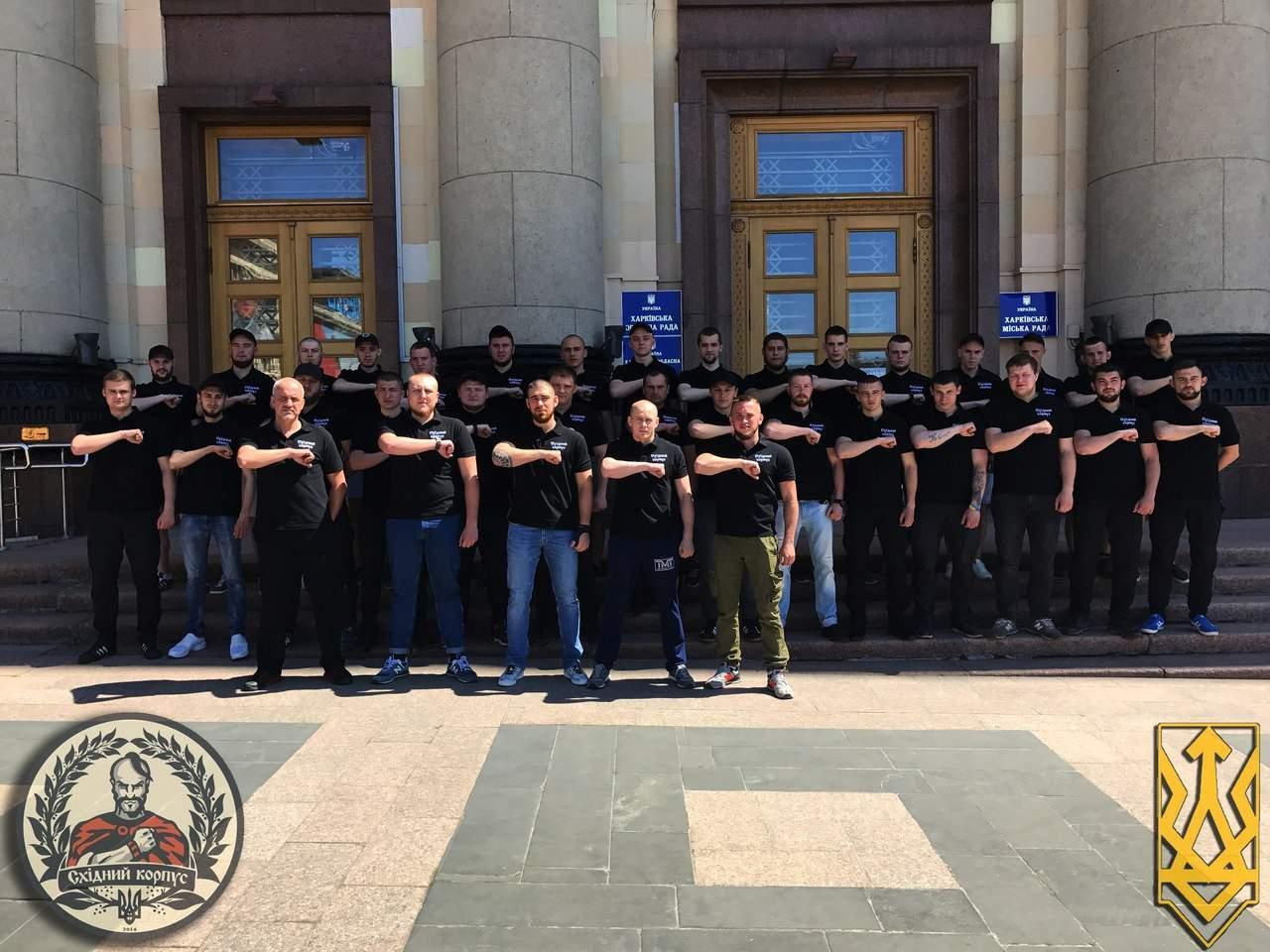 Во время празднования 9 мая в Харькове вместе с полицией за безопасностью будет следить