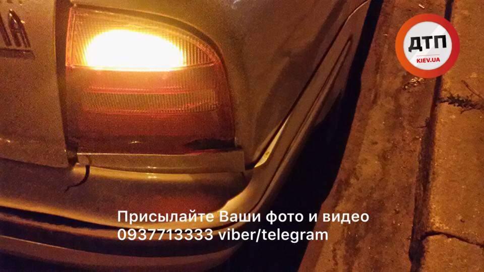 В Киеве пьяный водитель автомобиля