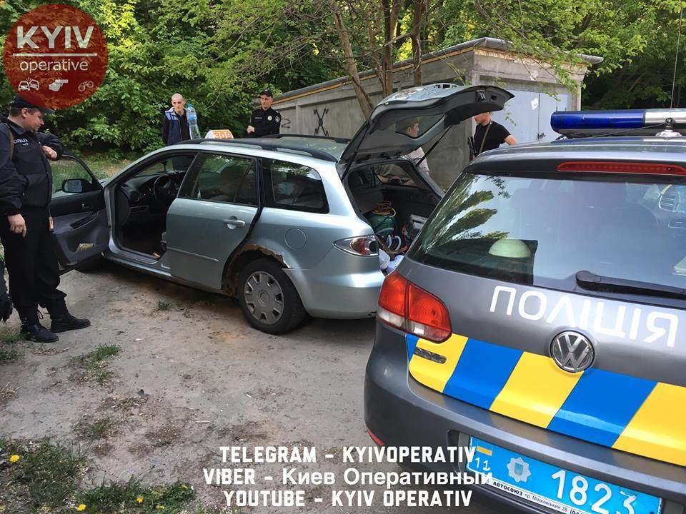 В столице задержали таксиста-наркоторговца (фото, видео)