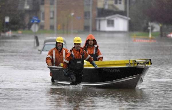 Из-за паводка в Квебеке проходит масштабная эвакуация