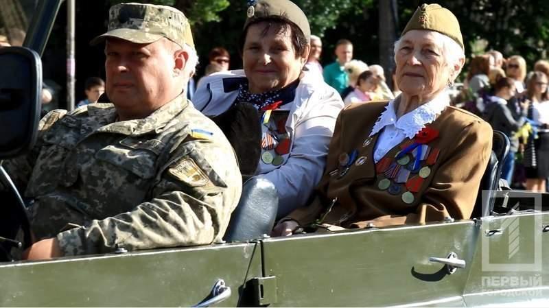 Кавалерийское «ура» ветеранам: по Кривому Роге прошла колонна кавалерии (фото)