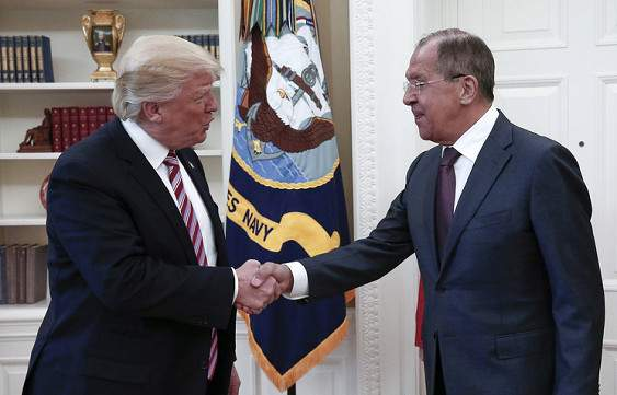 Трамп и Лавров завершили переговоры в Белом доме