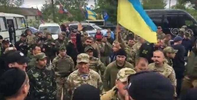 На Одесчину приехали украинские патриоты выразить населению поддержку (Видео)