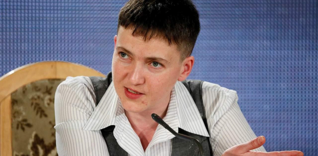 Надежда Савченко назвала украинских военных