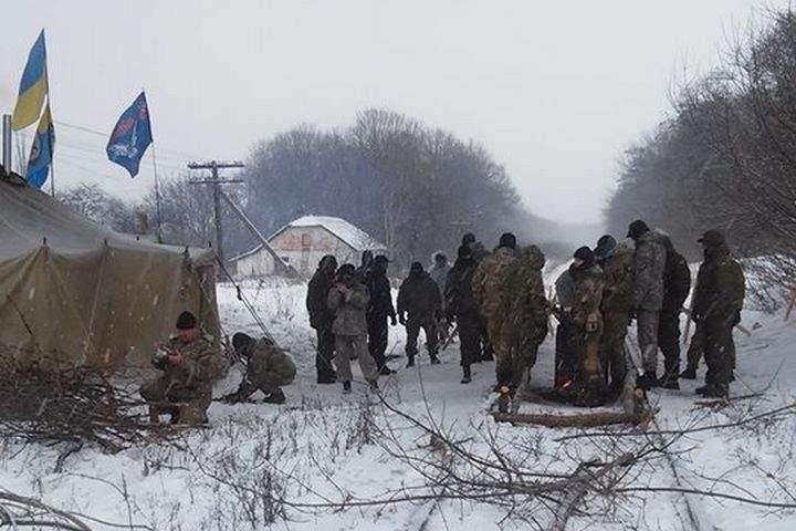 Штаб блокады заявил о незаконных арестах со стороны украинских правоохранителей