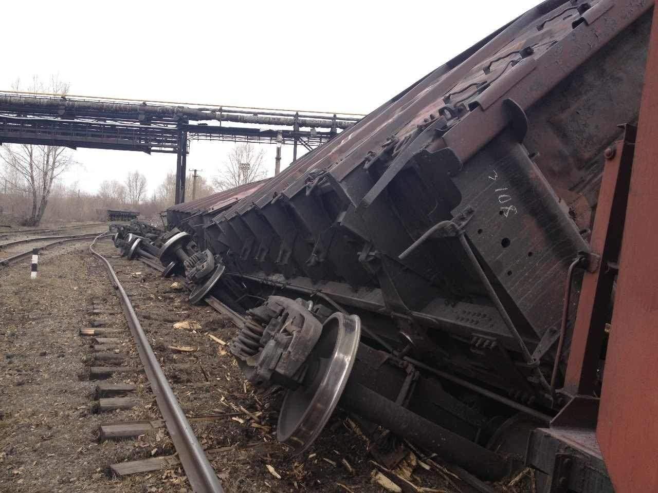 На Львовщине товарный вагон сошел с рельс, обошлось без пострадавших