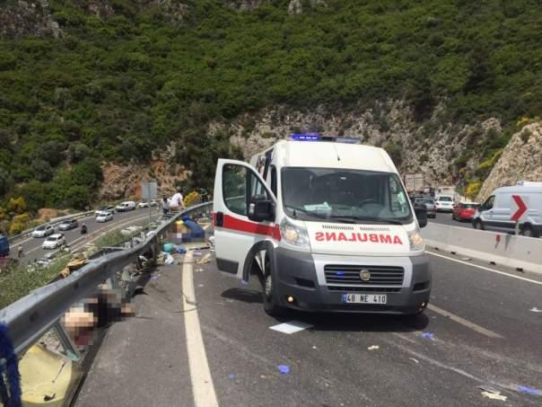 В Турции произошло жуткое ДТП: погибли 17 туристов (Видео)