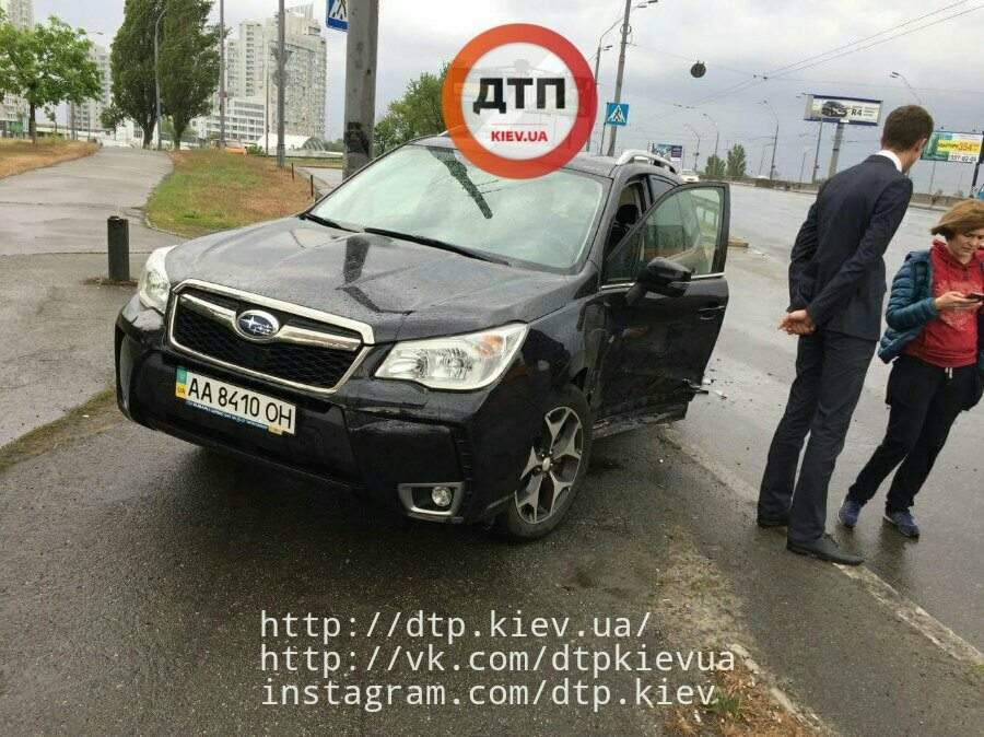 Новые подробности резонансного ДТП со спорткаром в столице (Фото)