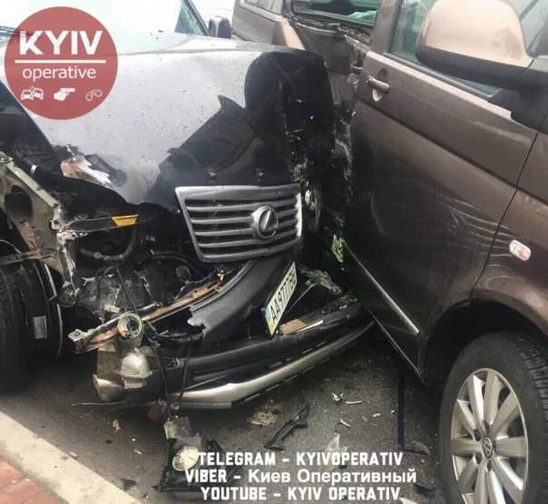 Пьяное ДТП с пострадавшими в Киеве: в скандал впутано НАБУ (Фото)