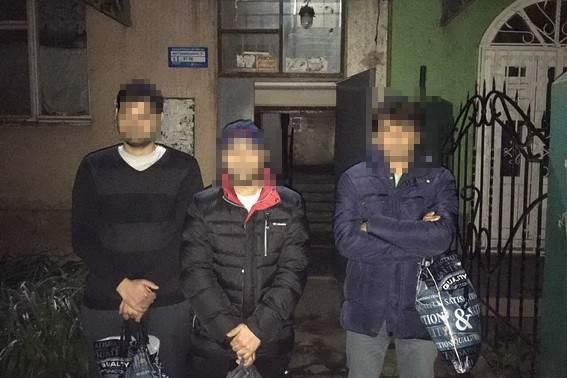 На Закарпатье были задержаны 8 нелегальных мигрантов