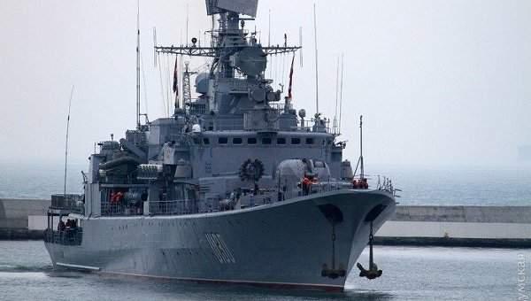 Самый большой корабль ВМС Украины будут ремонтировать за 14,5 миллионов гривен