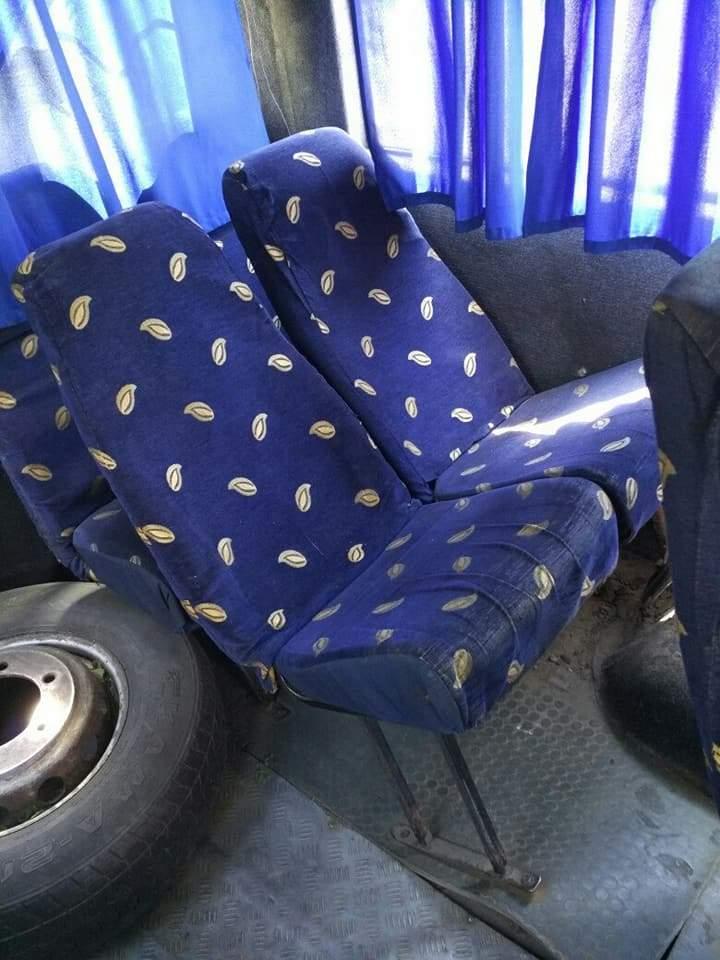 В Ровно можно проехаться на маршрутке с дырками в полу и со сломанными сиденьями (Фото)