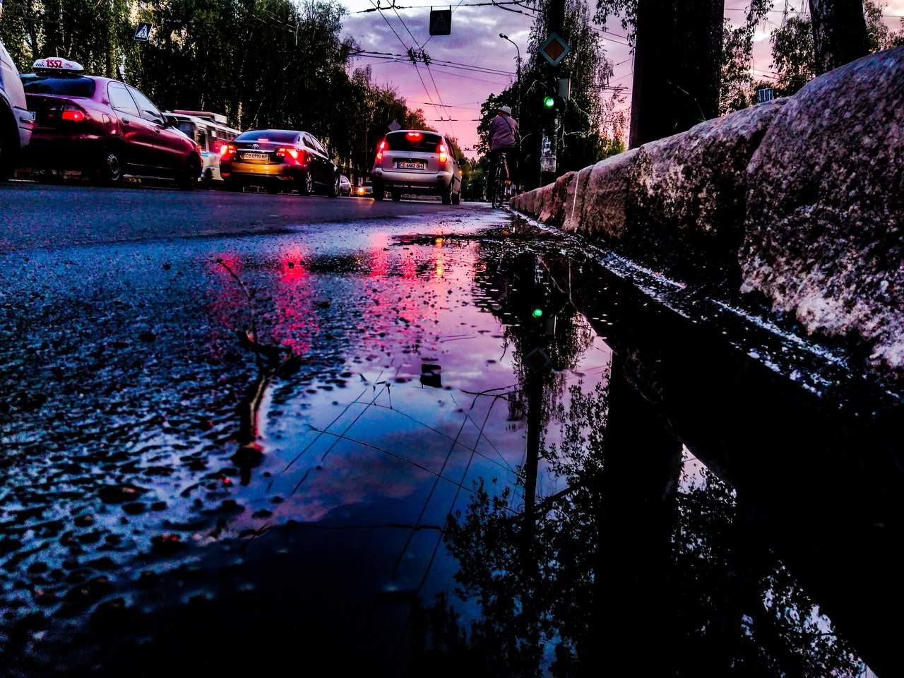 Завораживающий Чернигов после вечернего дождя (Фото)