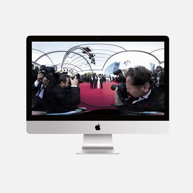 Телевизоры смогут показывать видео в формате 360 градусов