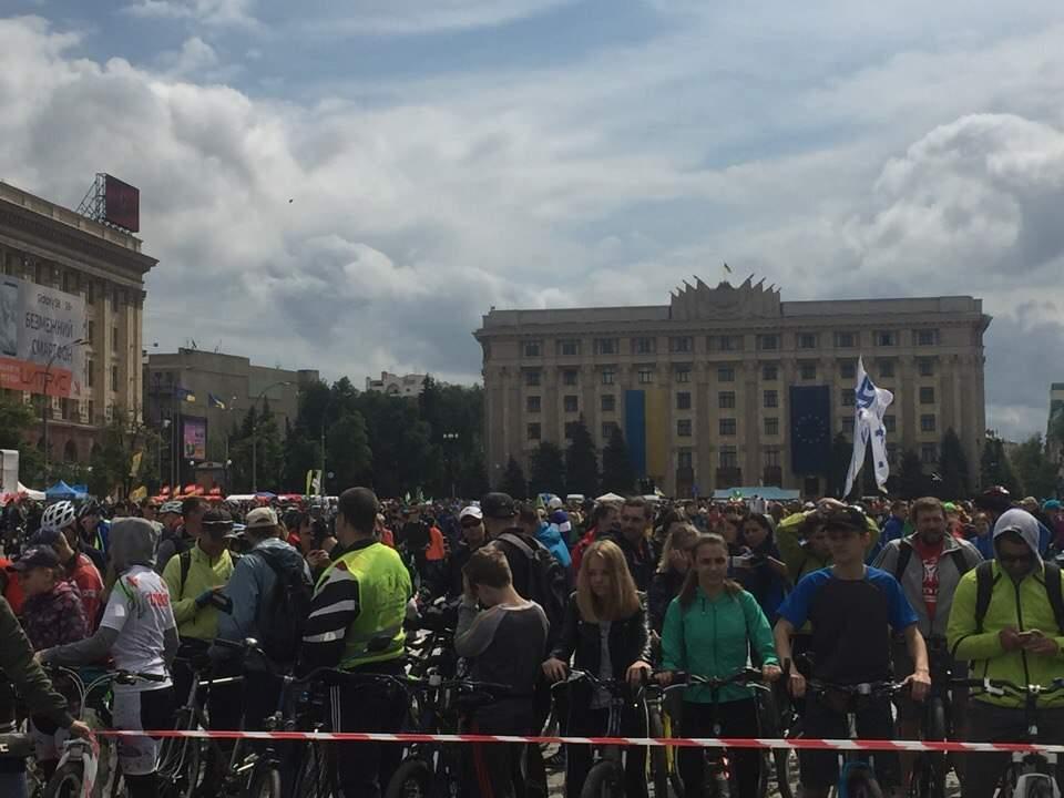 В Харькове стартовал Велодень-2017 (фото)