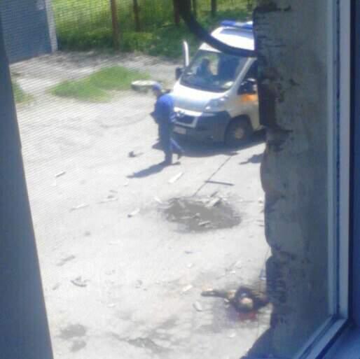 В Харькове после падения с высоты разбился мужчина