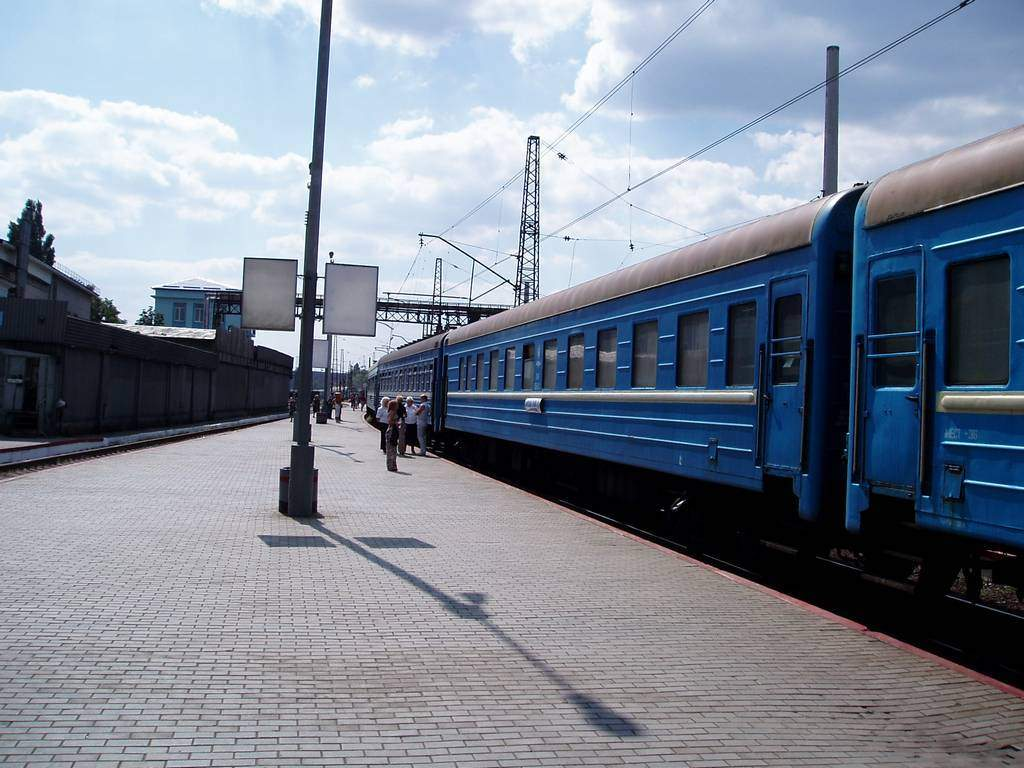 Из Донбасса пустят новый поезд