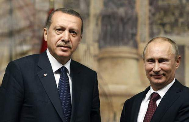 Президенты Турции и РФ провели телефонные переговоры