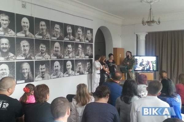 В Черкассах представили социальный проект, посвящённый защитникам Украины (фото)