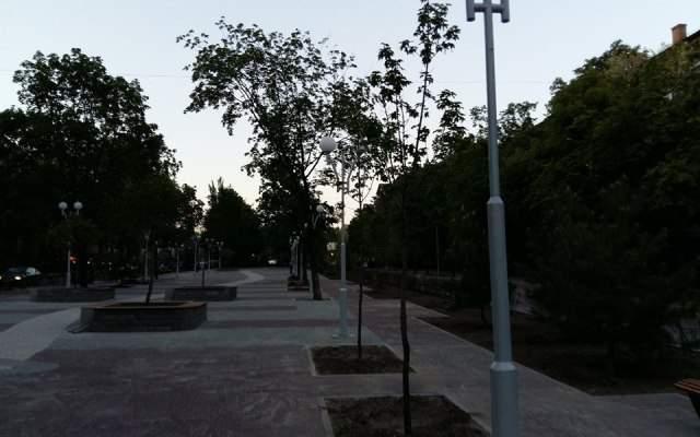 В Запорожье отреставрировали известный проспект