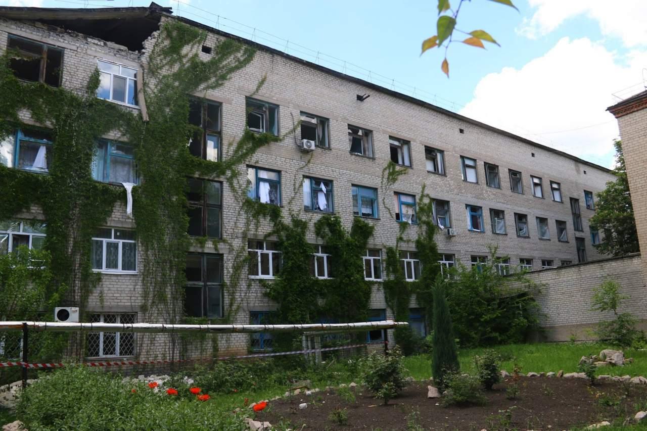 Красногоровка в огне: фоторепортаж с места событий (фото)