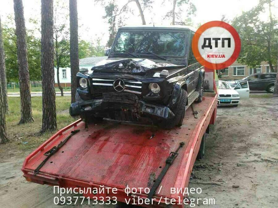 Пьяное ДТП под Киевом: водитель