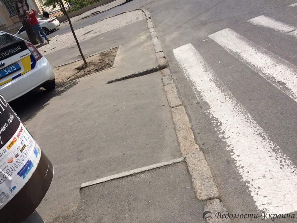 В Одессе патрульные на