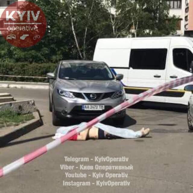 Подробности наглого убийства бизнесмена в Киеве (Фото)