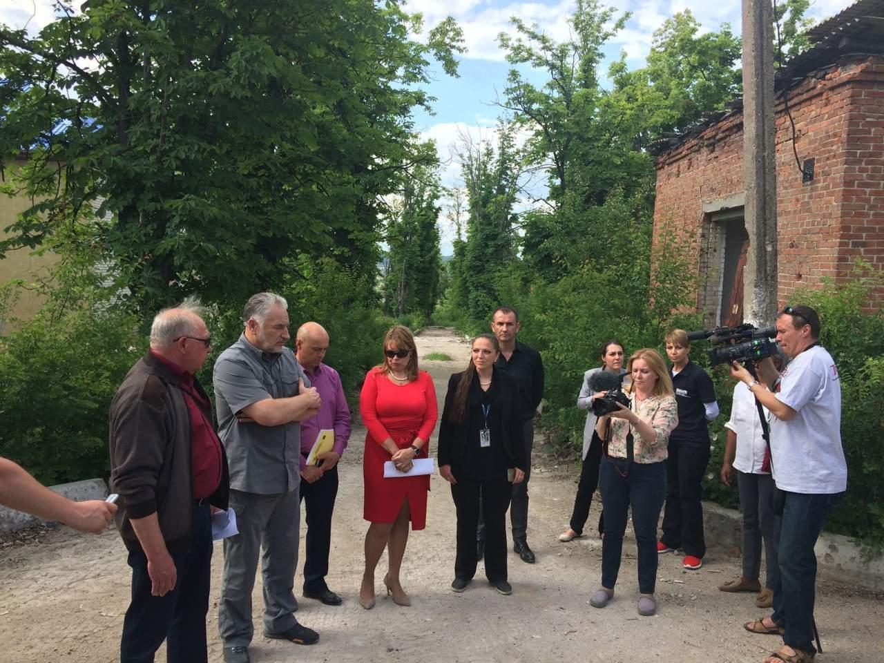 Делегация послов-постоянных представителей Совета ОБСЕ посетила Славянск (фото)