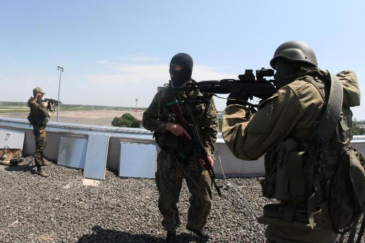 Жители Донецка сообщают о доносящихся звуках выстрелов