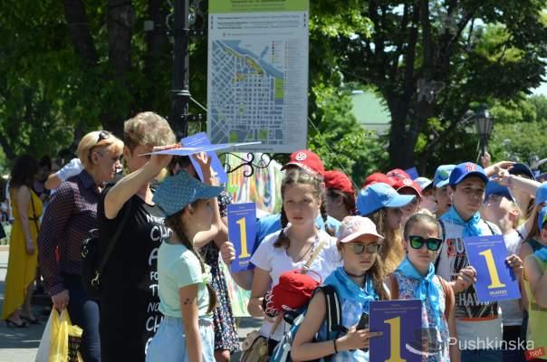 В Одессе дети установили новый рекорд (Фото)