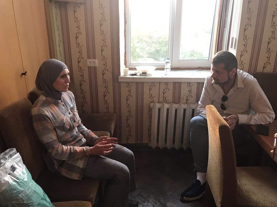 Мосийчук узнал подробности покушения на жизнь командира батальона имени Дудаева Адама Осмаева