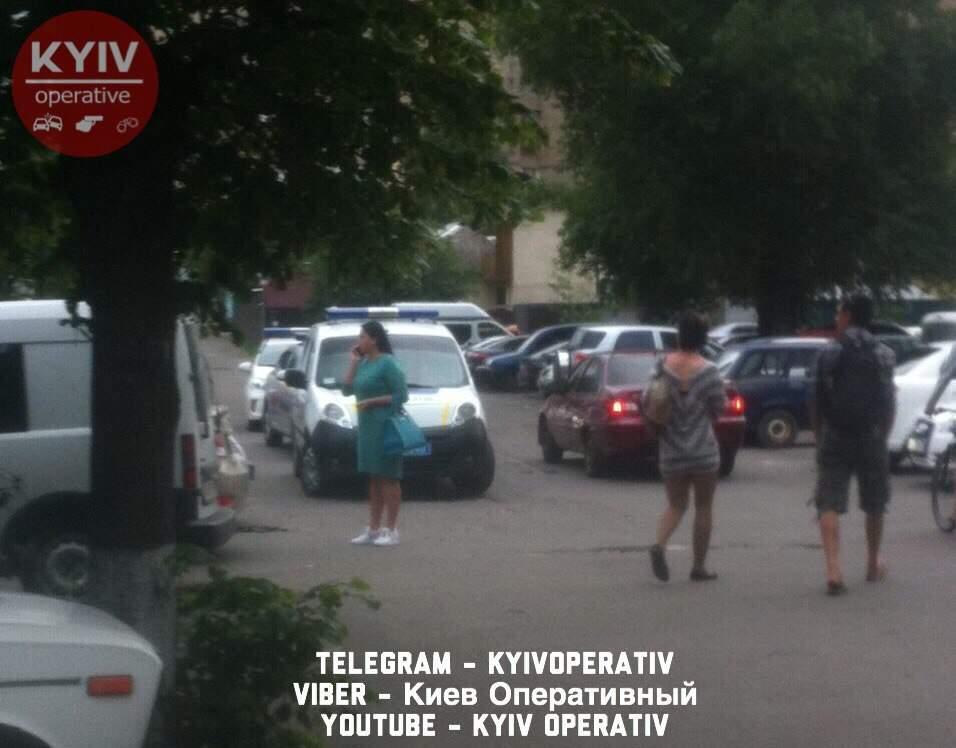 В Киеве возле