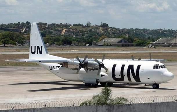 Самолет ООН вспыхнул во время посадки в Сомали