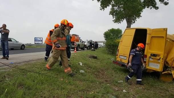 Смертельное ДТП в Болгарии: 10 погибших, 8 травмированых (Фото)