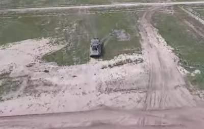 Национальная гвардия Украины была оснащено новой техникой (Видео)