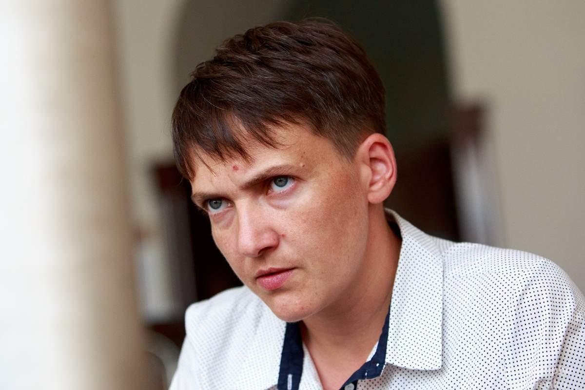 Савченко рассказала, почему ей стыдно за украинских политиков