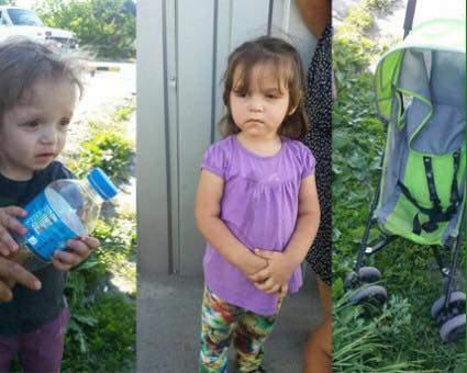 На остановке в Славянске обнаружили двух брошенных малышей