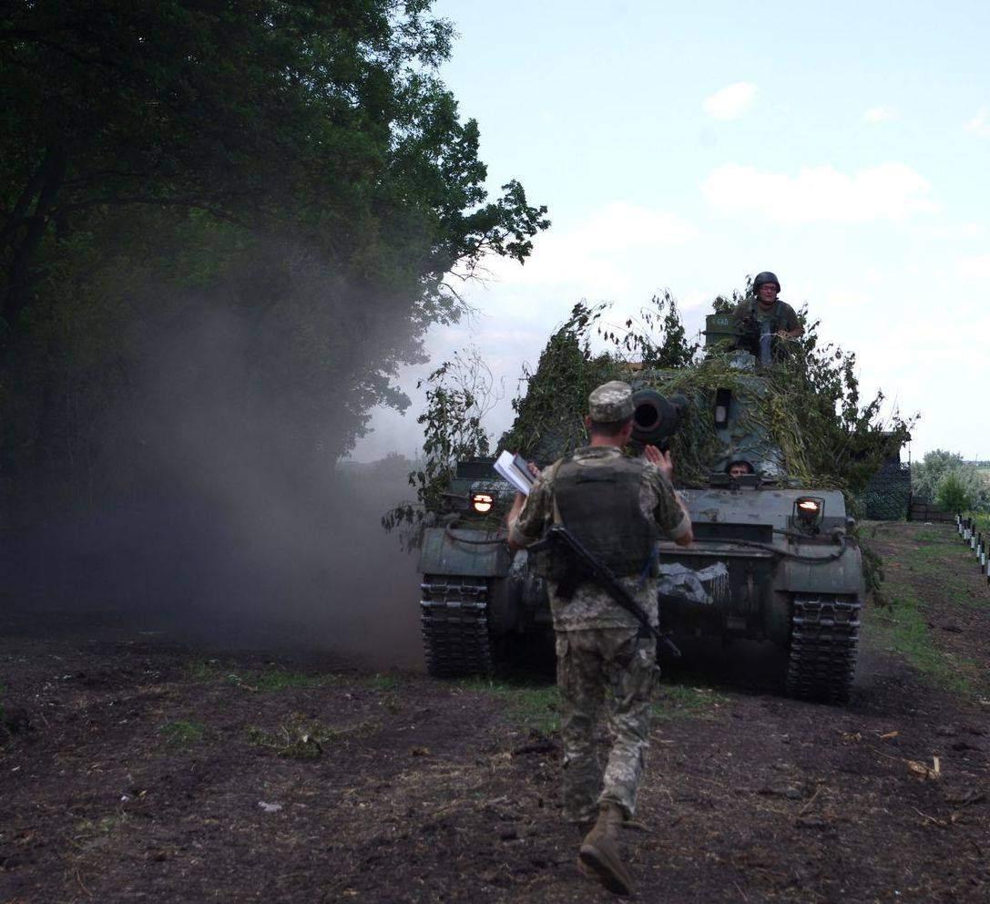 В зоне АТО не прекращаются обстрелы: один военнослужащий ВСУ ранен