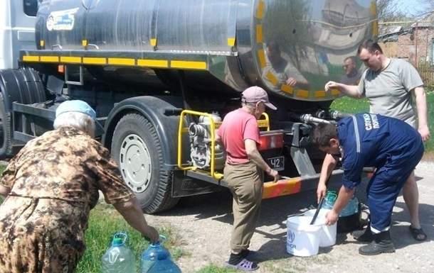 Третьи сутки коллапса: на Донетчине в  пяти районах не удаётся восстановить водоснабжение