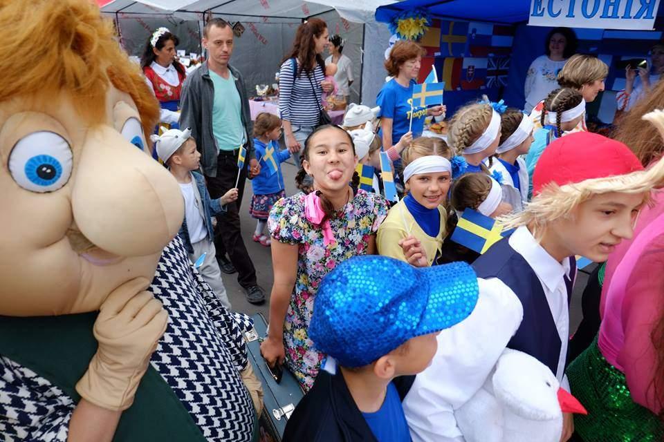 В Покровске празднуют День Европы (Фото)