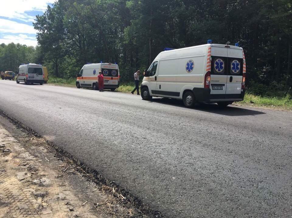 На новенькой трассе во Львовской области произошло серьезное ДТП (Фото)
