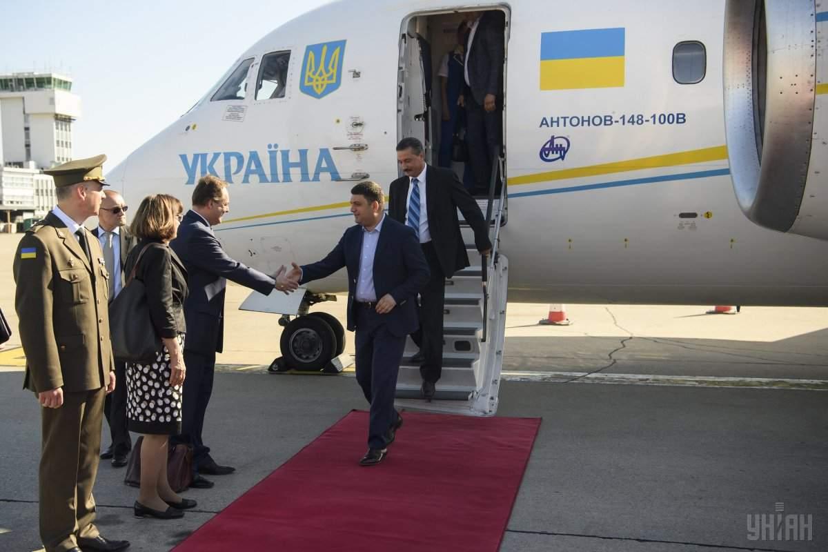 Премьер-министр Украины прибыл в Хорватию с рабочим визитом (фото)