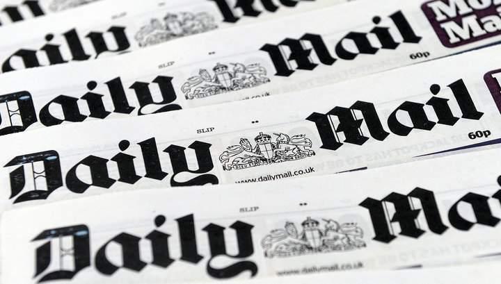Случайность? Британский таблоид Daily Mail назвал Крым частью России