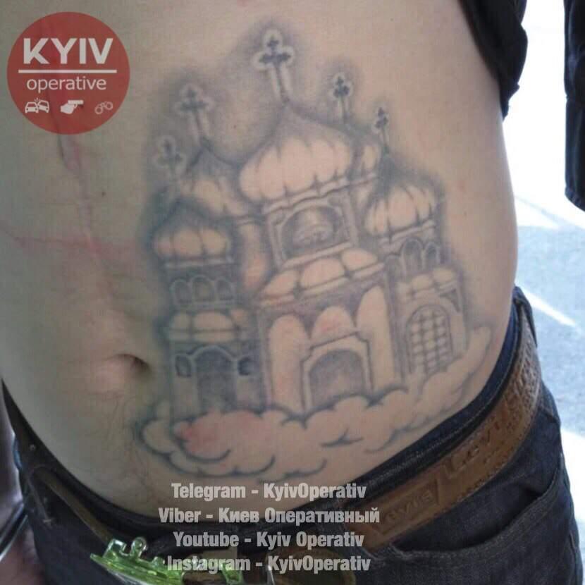 В Киеве арестовали экстравагантного карманника (фото)