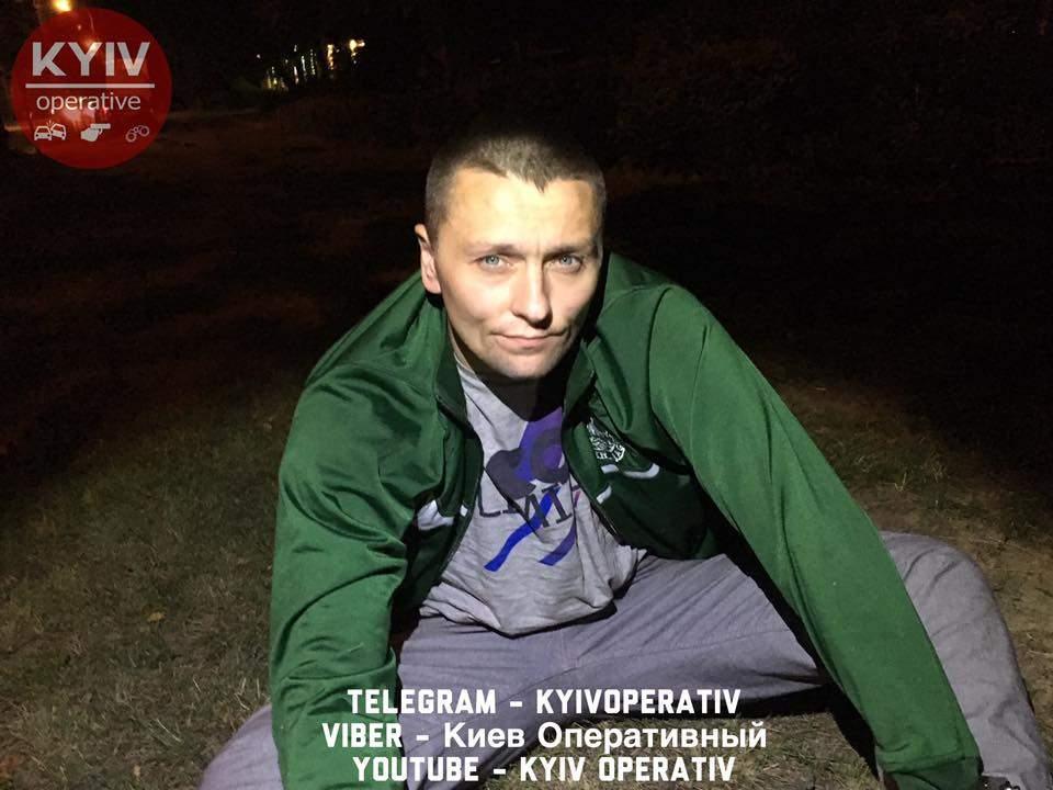 В Киеве вора задержали вскоре после совершения преступления (Видео)